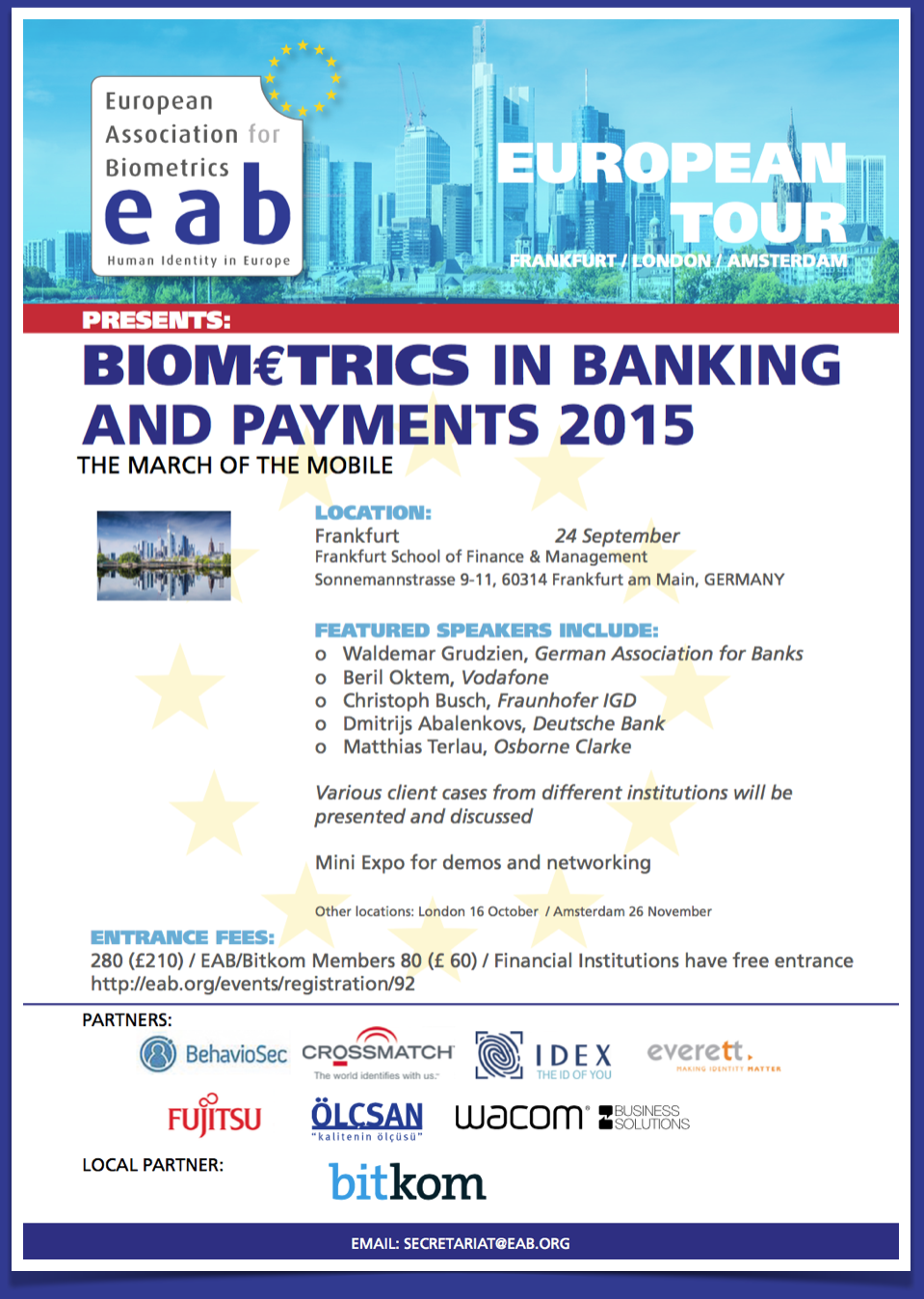 [illustration] EAB Biometrics in Banking and Payment 2015