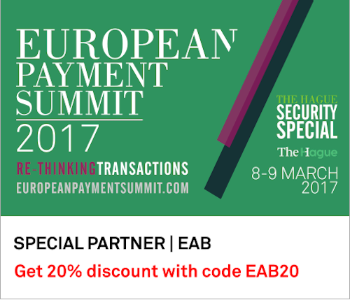 European Payment Summit 2017 Banner