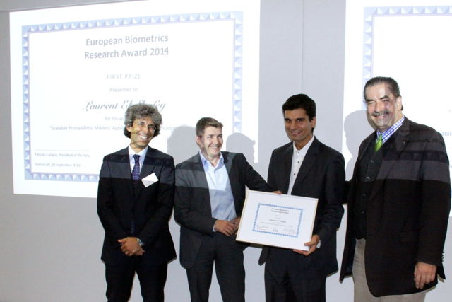 [Photo] Winner of the EAB Research Award 2014