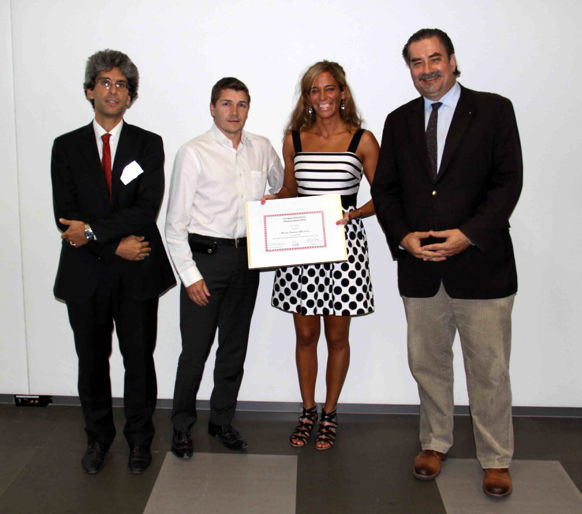 [Photo] Winner of the EAB Research Award 2015