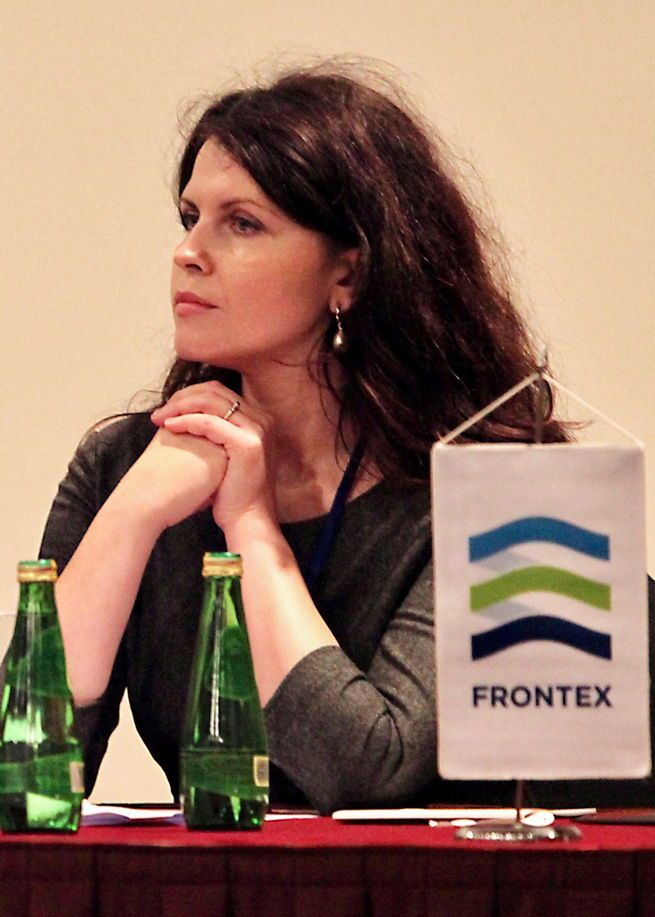 [Photo] Rasa Karbauskaite from FRONTEX